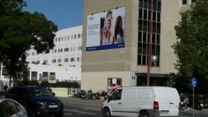 Publicidad medianeras, publicidad en fachadas, publicidad exterior