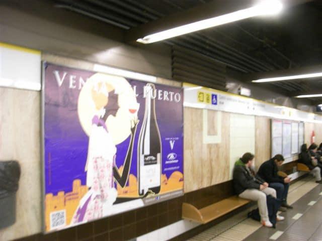 publicidad metro vallas Valencia