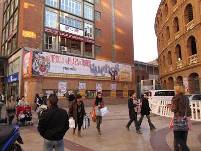 EL CIRCO DE LA PLAZA DE TOROS – NAVIDAD 2012