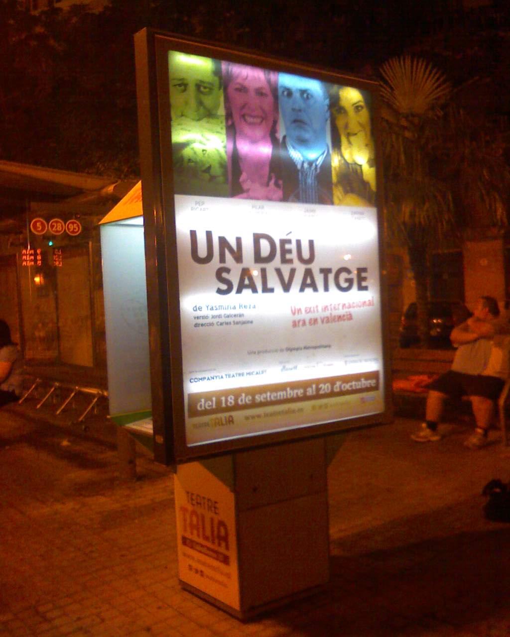 UN DÉU SALVATGE – Teatre Talía