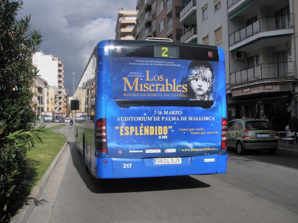 LOS MISERABLES, EL MUSICAL (Palma de Mallorca)