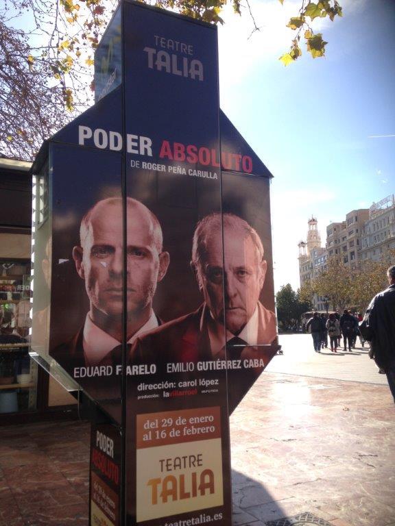 PODER ABSOLUTO 2014 – TEATRE TALIA