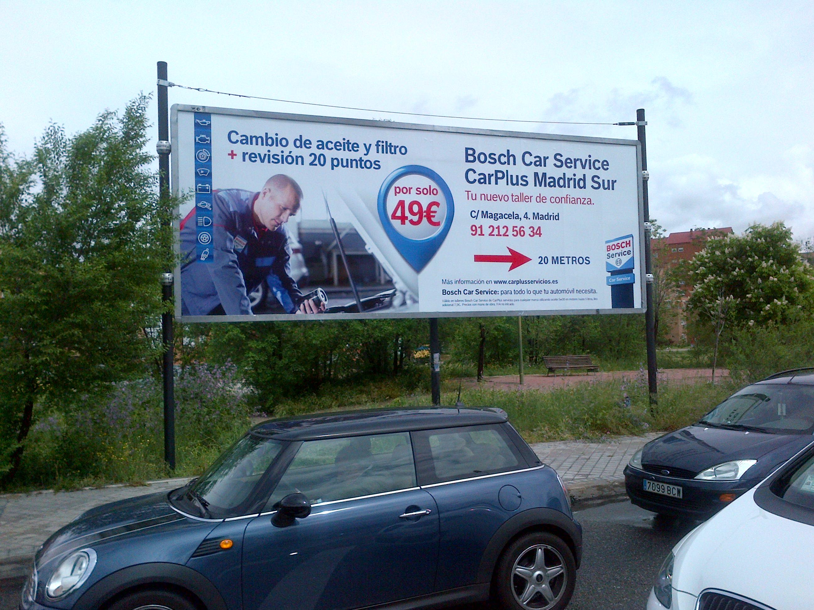 TALLER BOSH CAR SERVICE – GRUPO IBERICAR MADRID