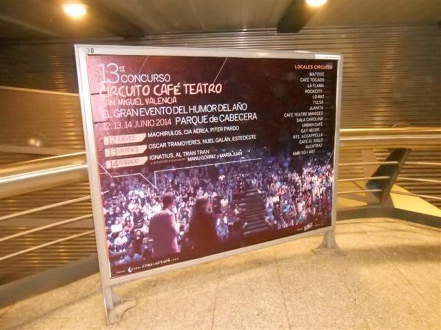 Circuito café Teatro Gala final 2013-2014