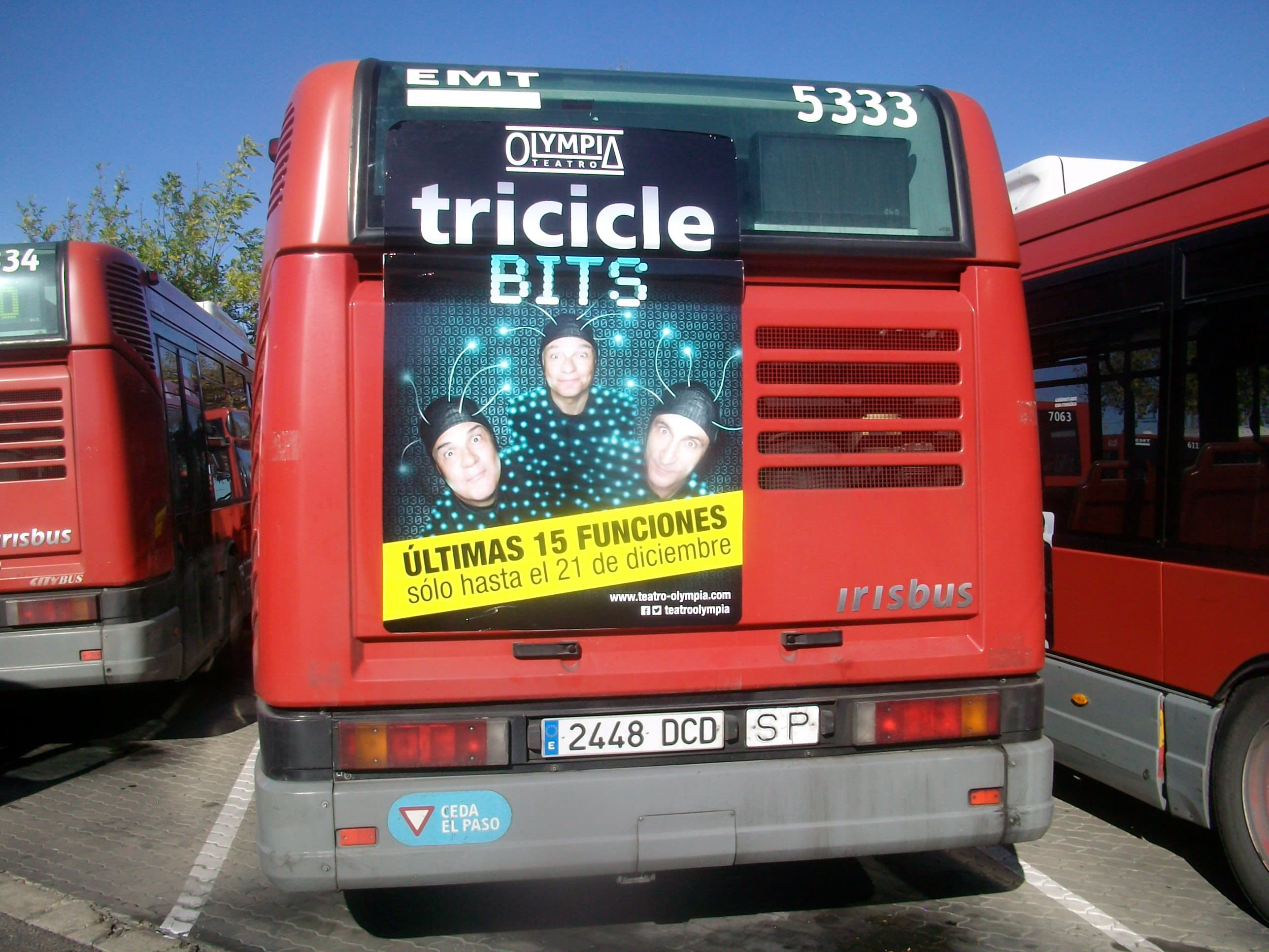 Tricicle BITS – Teatro Olympia