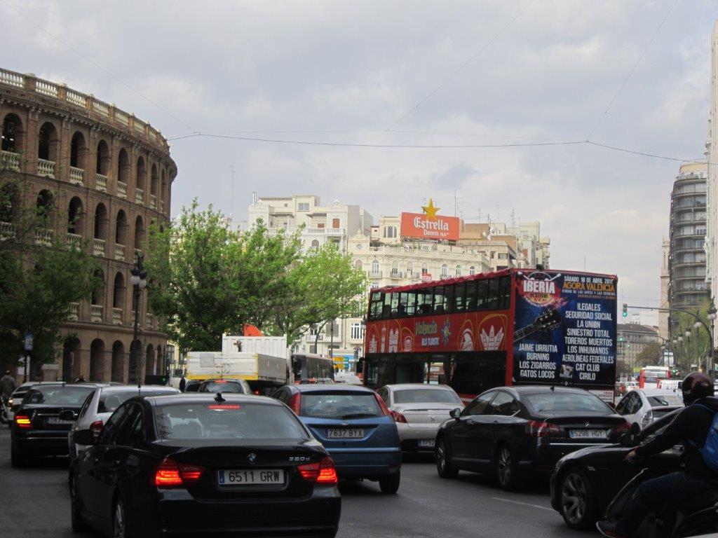 Publicidad exterior, publicidad autobuses Valencia