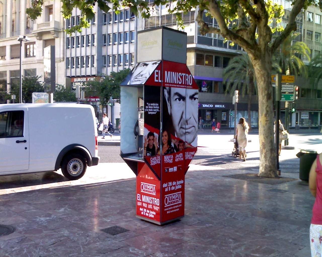 Publicidad cabinas Valencia – El Ministro