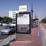 Publicidad paradas tranvía Valencia – FEBF