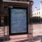 Publicidad mupis Valencia – Discoteca Play