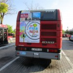 Publicidad autobuses – Ruta de la tapa