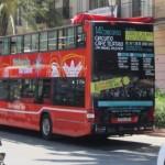 Publicidad bus turistico Valencia – Circuito Café Teatro Gala Final 2015