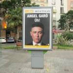 Publicidad mupis Valencia – Ángel Garó