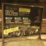 Publicidad metro Valencia – Circuito Café Teatro gala Final 2015