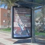 Publicidad marquesinas – Los cosacos de Ucrania