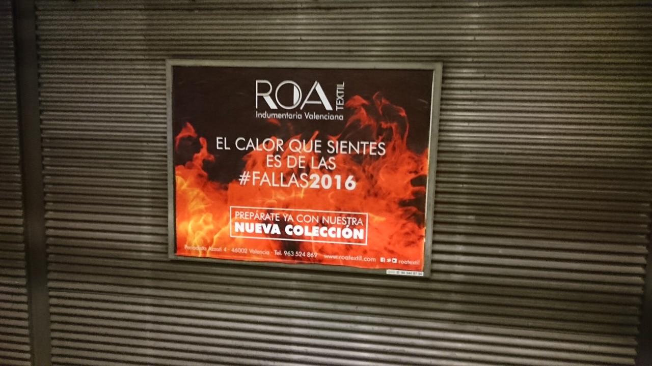 Publicidad metro – ROA verano