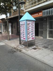 Publicidad cabinas – TAC CATARROJA OTOÑO 2015