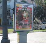 Publicidad mupis – Teatre Talia Legionaria