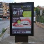 Publicidad mupis – Clínica Noudent Xirivella