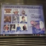 Publicidad metro – Café teatro programación otoño