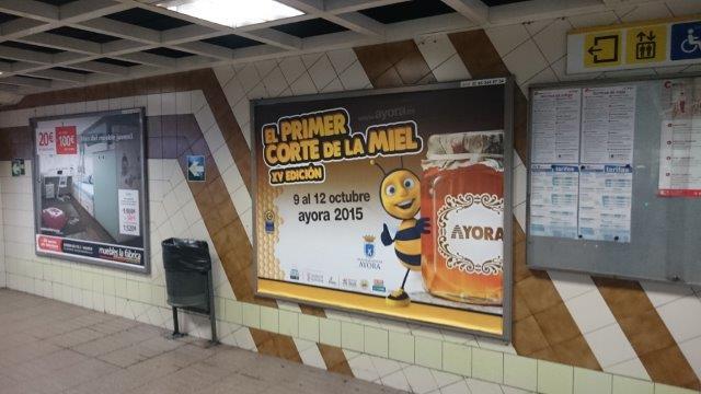Publicidad metro – FERIA DE LA MIEL 2015