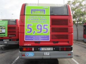 Publicidad autobuses – Belle Center