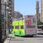 Publicidad autobuses – 50 sombras, El Musical
