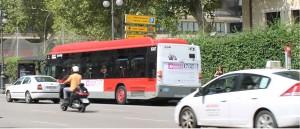 Publicidad autobuses – Festival Russafa Escènica 2015