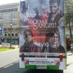 Publicidad autobuses – Bodas de Sangre Teatro Flumen
