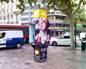 Publicidad cabinas – Ninette y un señor de Murcia
