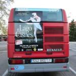 Publicidad autobuses Valencia – El lago de los Cisnes