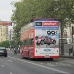 Publicidad bus turístico – Ford Motorcraft