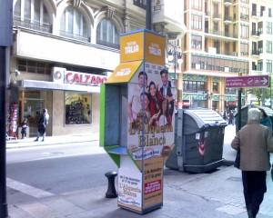 Publicidad cabinas – La alquería blanca