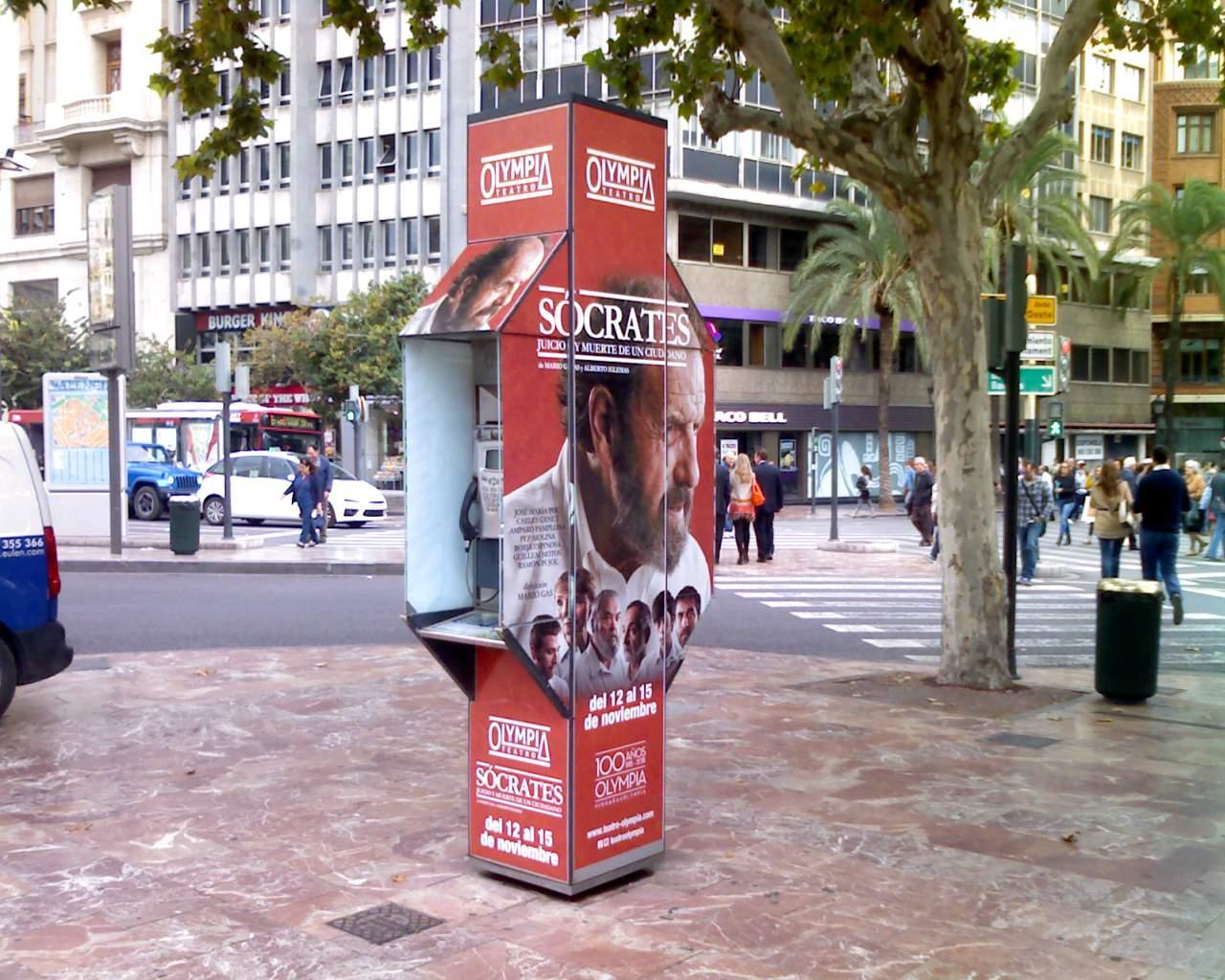 Publicidad cabinas – Sócrates