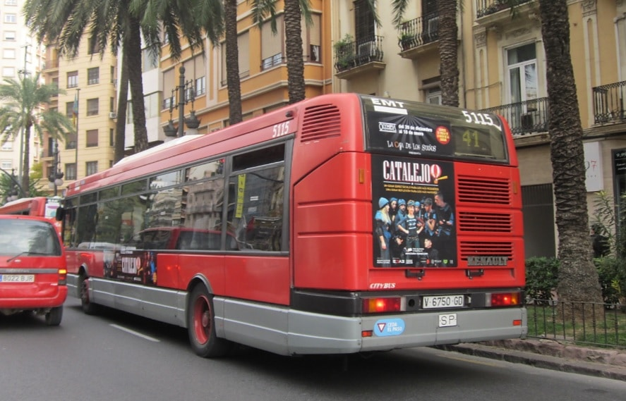 Publicidad autobuses CATALEJO