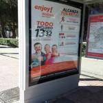 Publicidad marquesinas – Enjoy Wellness Móstoles