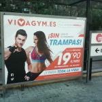 Publicidad metro Valencia – VIVA GYM