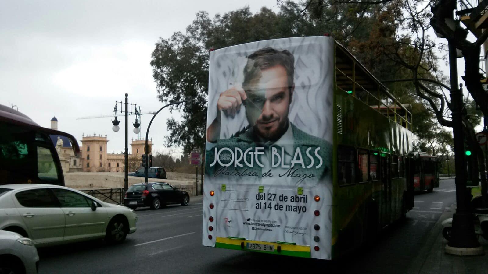 Publicidad bus turístico Valencia – Jorge Blas
