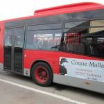 Publicidad autobuses – Concierto Coque Malla