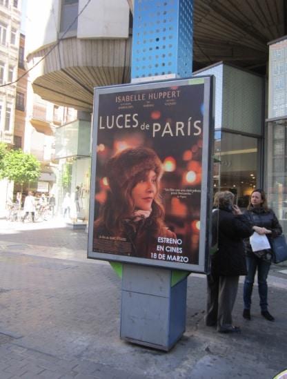 Publicidad mupis – Luces de París