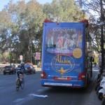 Publicidad bus turistic – Aladdin