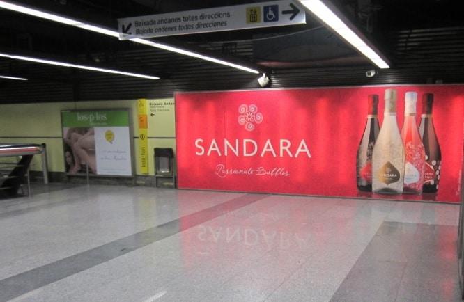 Publicidad metro espectacular – Sandara