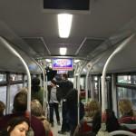 Publicidad pantallas autobuses – Sister Act
