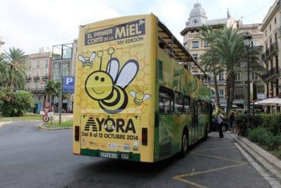 Publicidad bus turistico, Publicidad exterior, Publicidad autobuses