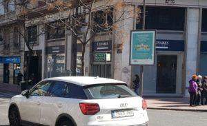 Publicidad en mupis, publicidad exterior, mobiliario urbano