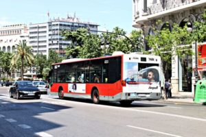 publicidad autobuses Valencia