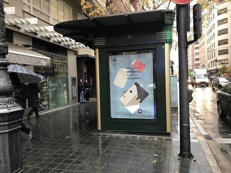 Publicidad kioscos, publicidad exterior