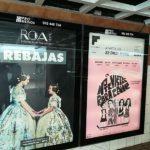 Publicidad en metro Valencia, publicidad exterior, ROA Indumentaria