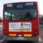 Publicidad autobuses valencia, Publicidad exterior, centro de día Boscá