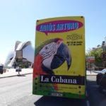 Publicidad autobuses, Publicidad exterior, teatro olympia