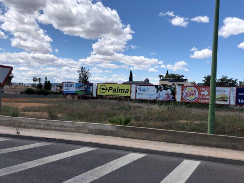 Publicidad exterior valencia, publicidad vallas valencia, publicidad automóviles palma